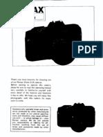 Pentax p3n Manual