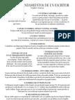 Los Diez Mandamientos Del Escritor