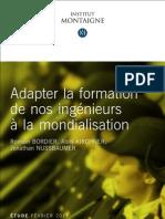 Etude Formation Ingenieurs Mondialisation
