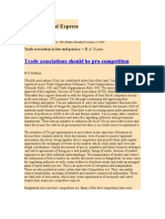 Trade Association in Law and Practice -- II