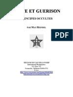 Santé et guerison principes occultes