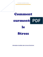 Comment Surmonter Le Stress