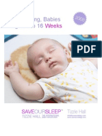 Save Our Sleep Article - Catnapping 8 to 16 Weeks
