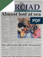 The Merciad, Feb. 9, 2005
