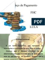 Balanco Pagto FHC x Lula
