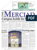 The Merciad, Oct. 26, 2005