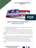 LINGUA INGLESA-CONTINUAÇÃO