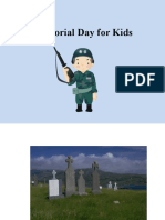 Memorial Day for Kids PowerPoint for Lesson