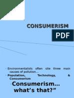 Consumerism - Module 4