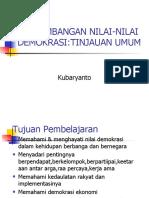 an Nilai-nilai Demokrasi