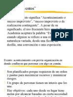 Clase 2 Organizacion de Eventos