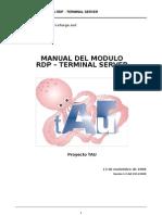 Manual Modulo Rdp Terminal Server