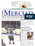 The Merciad, Oct. 25, 2006
