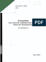Šrámková, E. (2001) - Kompendium zum Asylrecht