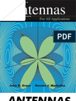 Antennas for All Applications by John D. Kraus & Ronald J. Marhefka 3rd Ed