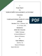 Final Report of Hr Essar