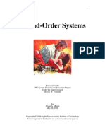 Second Order Systems- Romeo Juliet Analogy