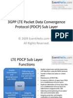 3GPP LTE PDCP Layer