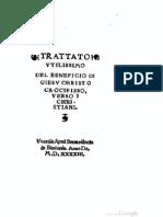 Beneficio Della Morte Di Cristo 1543