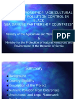 Serbia Agricultural Nutrient Pollution Control