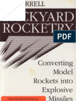- Paladin Press - Farrel, Bic - Backyard Rocketry - Converting Model Rockets Into Explosive Missi