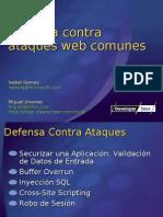 6 Defensa Contra Ataques Web Comunes