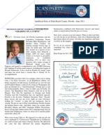 Palm Beach County GOP Newsletter - June 2011