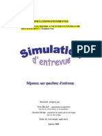 Simulation Entretiens