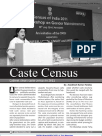 Magazine Article Caste Census Www.upscportal