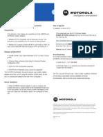 Motorola WN825 Release Notes 6.0.3
