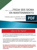 Estrategia Seis Sigma en Mantenimiento