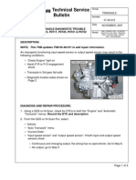 Automatic Transaxle Diag Trouble Codes