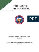 Utmb Absite Review Manual