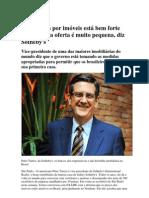 Demanda por imóveis no Brasil está forte e oferta é muito pequena