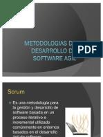 Metodologias de Desarrollo de Software Agil