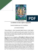 ritualité Méditation - Dalai-Lama - La base de la méthode de cause à effet en sept points (technique de méditation)