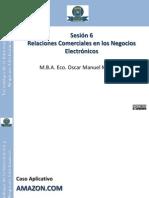 Relaciones Comerciales en los Negocios Electrónicos