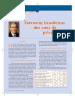 Artigo Dist. Física - Ferrovias brasileiras - 10 anos de privatização