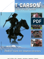 Fort Carson Guide 2006