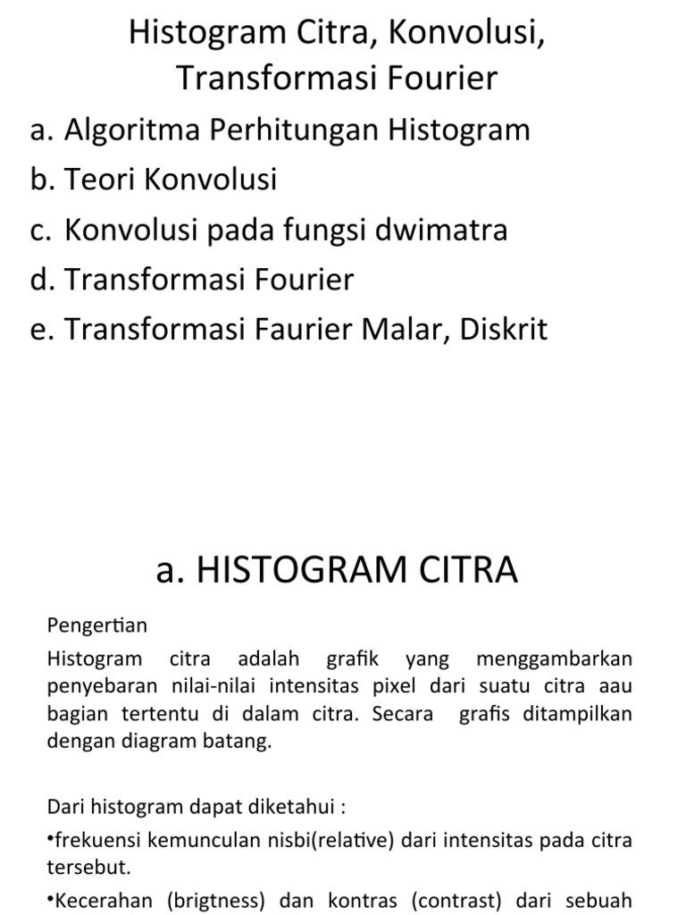 Pengolahan citra histogram ccuart Choice Image