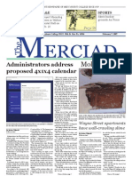 The Merciad, Feb. 7, 2007
