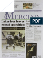 The Merciad, March 14, 2007