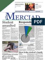 The Merciad, April 25, 2007