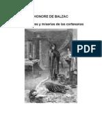 Balzac Honore de - Esplendores Y Miserias de Las Cortesanas