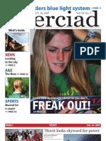 The Merciad, Oct. 10, 2007