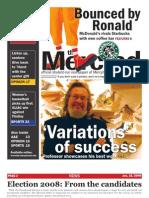 The Merciad, Jan. 16, 2008