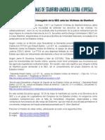La Responsabilidad Innegable de La SEC- Anuncio de Prensa - Mayo 29, 2.011
