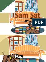 Sam sat