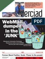 The Merciad, Sept. 24, 2008