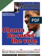 The Merciad, Nov. 5, 2008